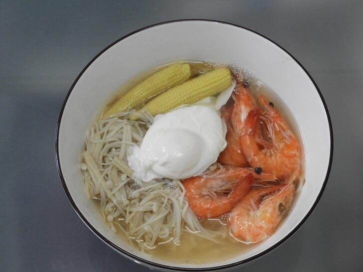 營養好吃的鮮蝦關廟麵料理出爐